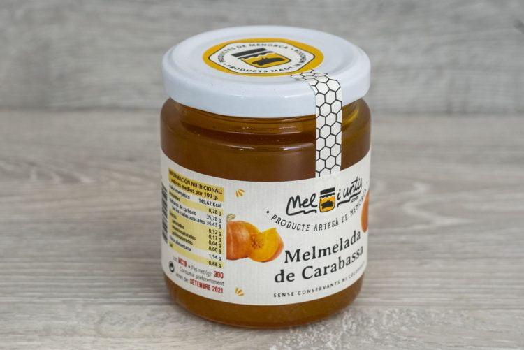 Mermelada de carabassa de Menorca