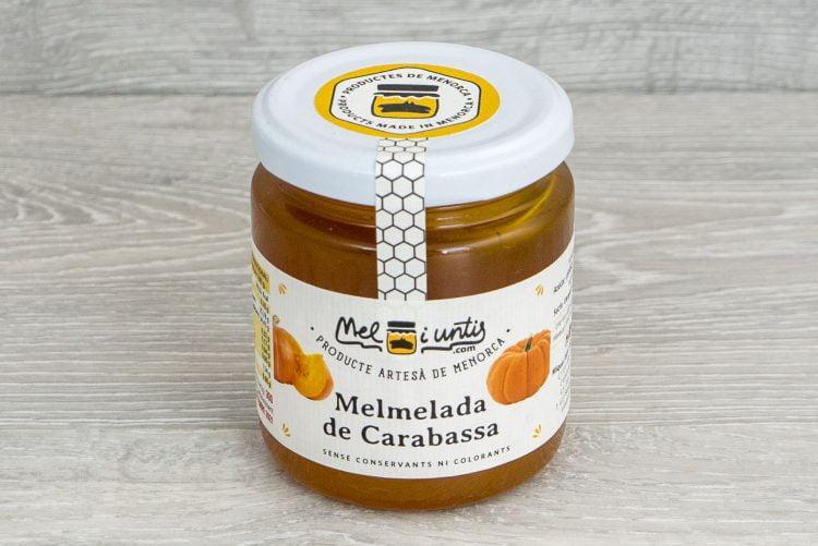Mermelada de calabaza de Menorca