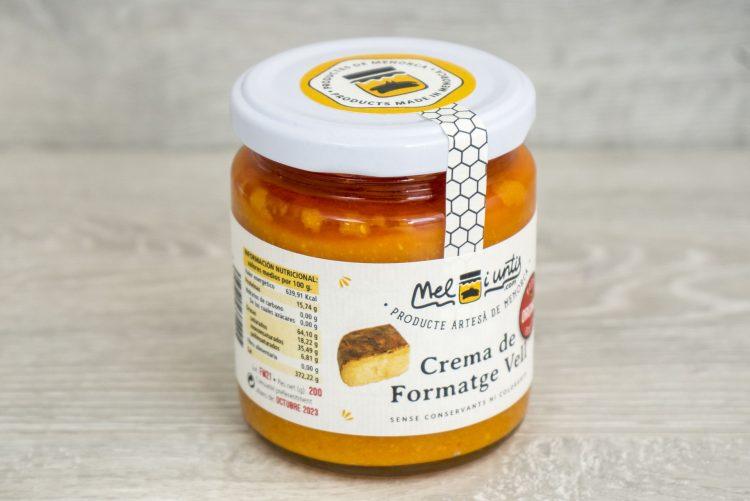 Crema de queso viejo de Menorca